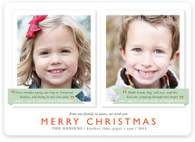 Holiday Thoughts Christmas Photo Cards