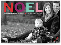 Noel Christmas Photo Cards