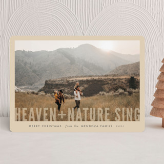 Heaven + Nature Christmas Photo Cards