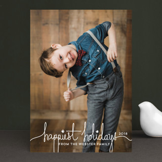 Holiday Revelry Christmas Photo Cards