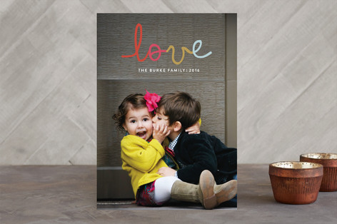 Too Cute Christmas Photo Cards