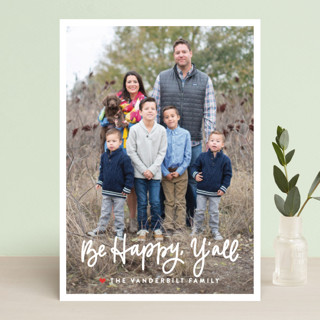 Be Merry, Y'all Christmas Photo Cards