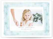 Snow Frame Christmas Photo Cards