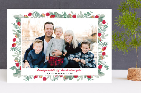 merry bricolage Christmas Photo Cards