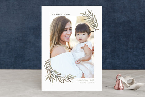 Olive Branches Christmas Photo Cards