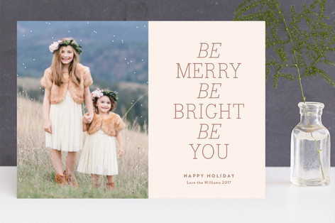 Micah 6:8 Christmas Photo Cards