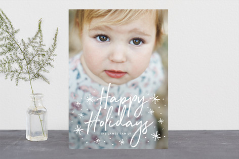 Wonderful Love Christmas Photo Cards