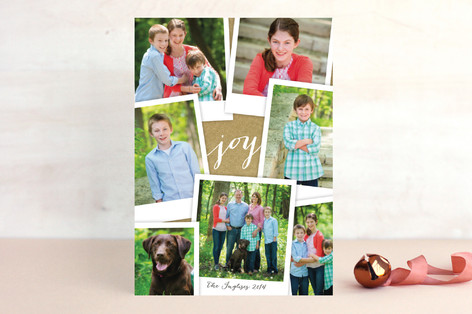 Simple Snapshots Christmas Photo Cards