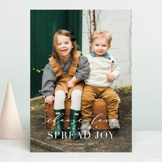 Greatest Joy Christmas Photo Cards