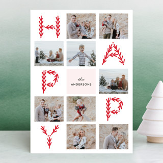 Merry Collage Christmas Photo Cards