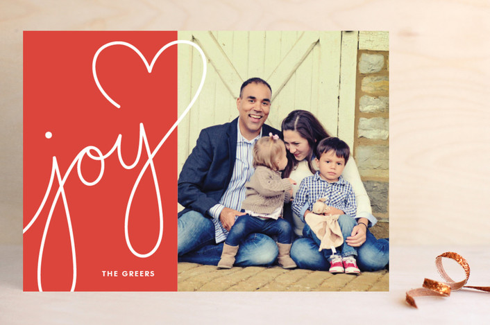 Lettered With Love Christmas Photo Cards