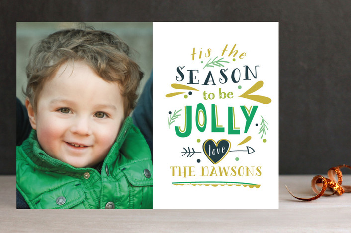 Season to be Jolly Christmas Photo Cards