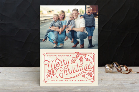 Christmas Time Christmas Photo Cards
