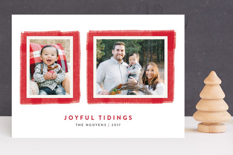 Joyful Frame Christmas Photo Cards