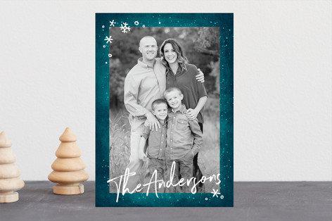 Frost Christmas Photo Cards