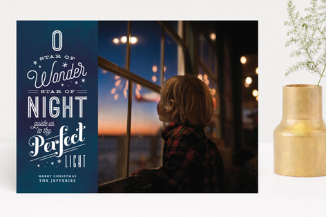 Perfect Light Christmas Photo Cards