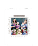 Floral Frame Standard Calendars