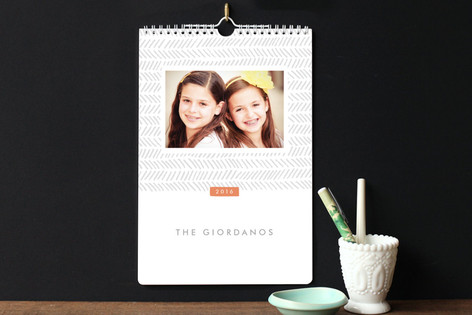 Handdrawn Herringbone Standard Calendars