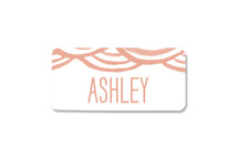 Watercolor Bunting Special Delivery Custom Name Labels