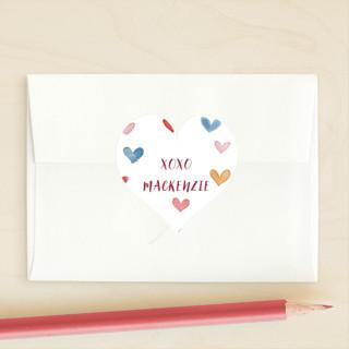 Lots of Love Custom Stickers