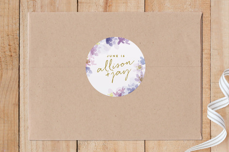 Pressed Petals Custom Stickers