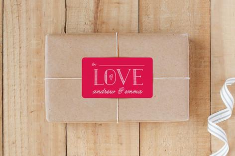 Bold Love Custom Stickers