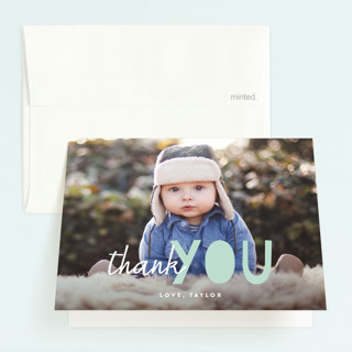 Bright Future Childrens Birthday Party Thank You Cards