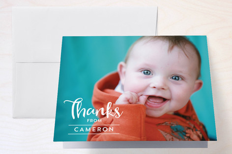 A Party Hat Childrens Birthday Party Thank You Cards