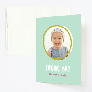 Checkers Childrens Birthday Party Thank You Cards
