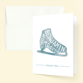 Iced Birthday Childrens Birthday Party Thank You Cards