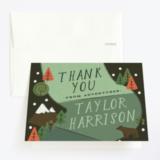 Skip Go Childrens Birthday Party Thank You Cards