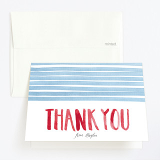 To the Pool Childrens Birthday Party Thank You Cards