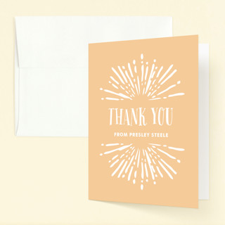 Radiant Childrens Birthday Party Thank You Cards