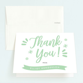 Wild & Free Childrens Birthday Party Thank You Cards