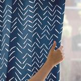 Herringbone Incomplete Curtains