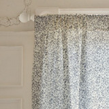 Butterflies, dragonflies, and flowers Curtains