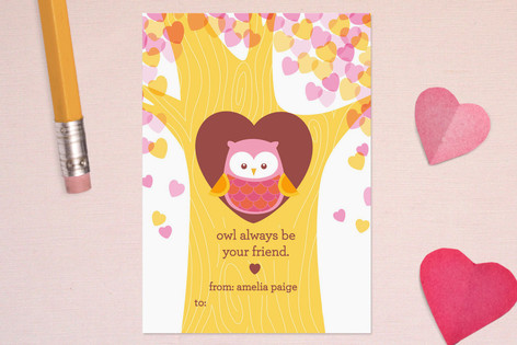 Valentines Day Cards Greeting Cards – Owl Valentines Day Cards