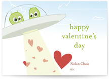 Love Abduction Classroom Valentine's Day Cards