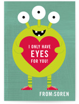 Eyes for You Classroom Valentine&#039;s Day Cards