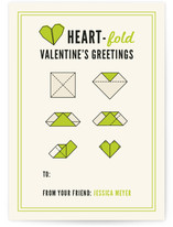 Heartfold Greetings Classroom Valentine's Day Cards