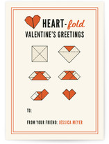 Heartfold Greetings Classroom Valentine&#039;s Day Cards