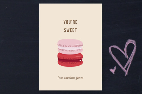 Sweet Treats Classroom Valentine's Day Cards