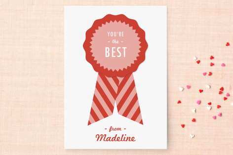 You're the Best Classroom Valentine's Day Cards