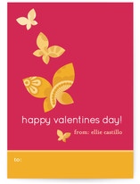 Monarch Flutter Classroom Valentine&#039;s Day Cards