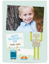 Robot Friends Classroom Valentine's Day Cards