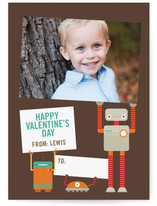 Robot Friends Classroom Valentine&#039;s Day Cards