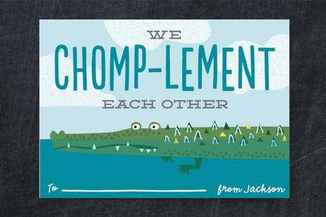 Chomp-lementary Classroom Valentine's Cards