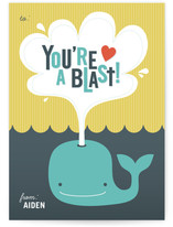 You&#039;re a Blast Classroom Valentine&#039;s Day Cards