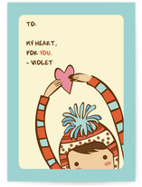 My Heart For You Classroom Valentine&#039;s Day Cards