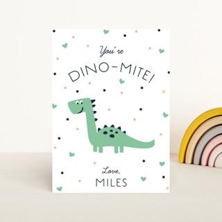 Dinomite Classroom Valentine's Cards
